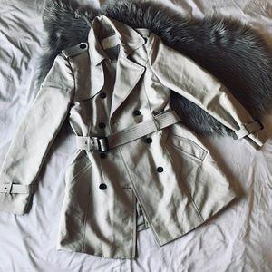 Zara tan woman's jacket